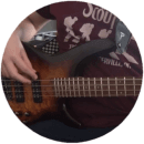 Adult Bass Guitar Student Review